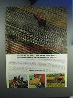 1964 Massey-Ferguson Tractor Ad - Take On the Big Jobs