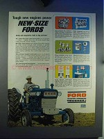 1965 Ford Tractor Ad - Tough New Engines Power