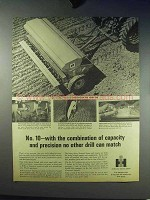 1966 International Harvester No. 10 Drill Ad - Capacity