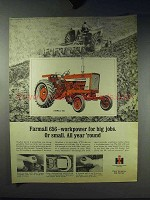 1966 International Harvester Farmall 656 Tractor Ad