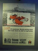 1967 International Harvester 275 Windrower Ad