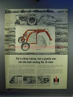 1967 International Harvester 16 Hay Rake Ad