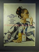 1968 Martell Cognac Ad - A French Original