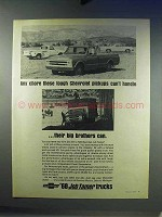 1968 Chevrolet Pickup Truck Ad - Any Chore Handle