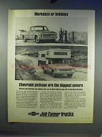 1968 Chevrolet Pickup Truck Ad - Workdays or Holidays
