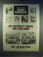 1968 Chevrolet Trucks Ad - Get For Your Farm
