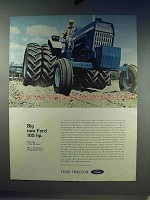 1968 Ford 8000 Tractor Ad - Big New Ford 105 hp.