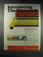 1969 New Holland Model 277 Hayliner Baler Ad - Bigmouth