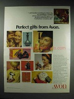 1970 Avon Cosmetics Ad - Perfect Gifts From Avon
