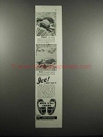 1947 Weed American V Bar Chains Ad - Ice Don't Trust