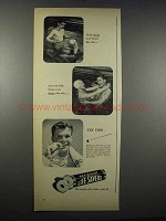 1947 Life Savers Pep O Mint Ad - If She Ducks