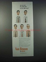 1947 Van Heusen Shirts Ad - Right Shirt on Right Man