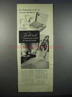1947 Fieldcrest Thermostatic Blanket Ad - Perfection