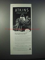 1946 Atkins Silver Steel Saws Ad - Everyday Lives