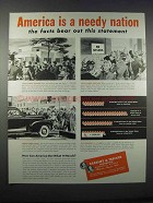 1946 Kearney & Trecker Milwaukee Machine Tools Ad - Needy Nation