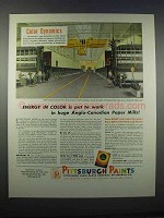 1946 Pittsburgh Paints Ad - Energy in Color