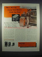 1946 Mallory Rectifier Ad - Charge Battery You Wait