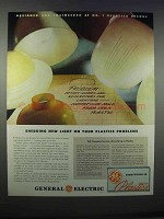 1946 General Electric Plastics Ad - Shedding New Light