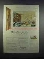 1946 Weldwood Plywood Ad - Make Room for Fun