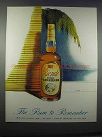1946 Riondo Rum Ad - Art by Kapra