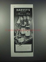 1946 Harvey's Sherry Ad