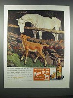 1946 White Horse Scotch Ad - The Favorite