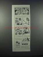 1946 Windex Cleaner Ad - Peter Lets His Poodle View