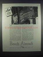 1946 Beech Aircraft Ad - It Failed After 50 Years