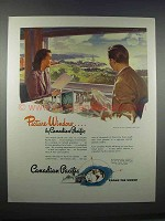 1946 Canadian Pacific Ad - Picture Window