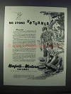 1946 Norfolk and Western Railway Ad - No Stone Unturned