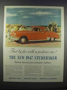 1947 Studebaker Commander Regal De Luxe Coupe Ad