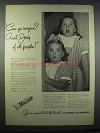 1945 Ipana Toothpaste Ad - Can Ya 'magine? Aunt Judy