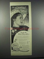 1944 Solitair Cake Make-Up Ad - He Can't Forget