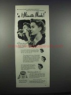 1944 Pond's Vanishing Cream Ad - Katharine Mellon