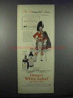 1944 Dewar's White Label and Victoria Vat Scotch Ad