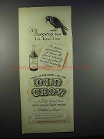1944 Old Crow Bourbon Ad - A Legacy