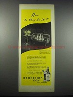 1944 Heublein's Club Cocktails Ad - How Do They Do It?