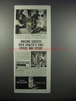 1943 Mennen Quinsana Ad - Success Speeds War Effort