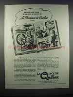 1943 La Province de Quebec Ad - Book of History