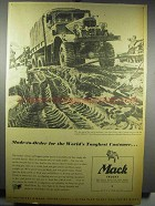 1942 Mack Trucks Ad - Made-to-Order Toughest Customer