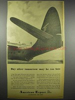1942 American Export Lines Ad - Day After Tomorrow