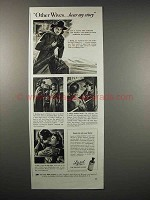 1942 Lysol Antiseptic Ad - Other Wives Hear My Story