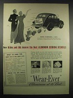 1939 Wear-Ever Aluminum Ad - New Brides and Old