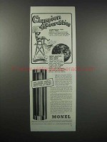 1938 International Nickel Monel Ad - Absurdities