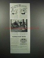 1938 Alexander Smith Rugs Ad - Mother-In-Law Problem