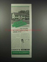 1938 Cabot's Double-White & Gloss Collopakes Paint Ad