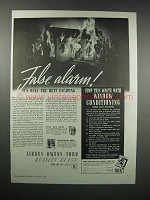 1938 Libbey-Owens-Ford Windows Ad - False Alarm