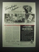 1938 Libbey-Owens-Ford Windows Ad - Everybody's Happier