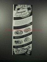 1938 Del Monte Fruit Cocktail Ad - Imagine
