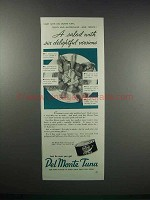 1938 Del Monte Tuna Ad - Salad Six Delightful Versions